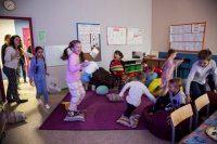 Бои подушками - традиции Школы Макарун