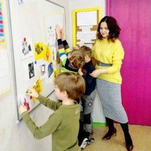 Занятие Проект в Семейной школе Макарун